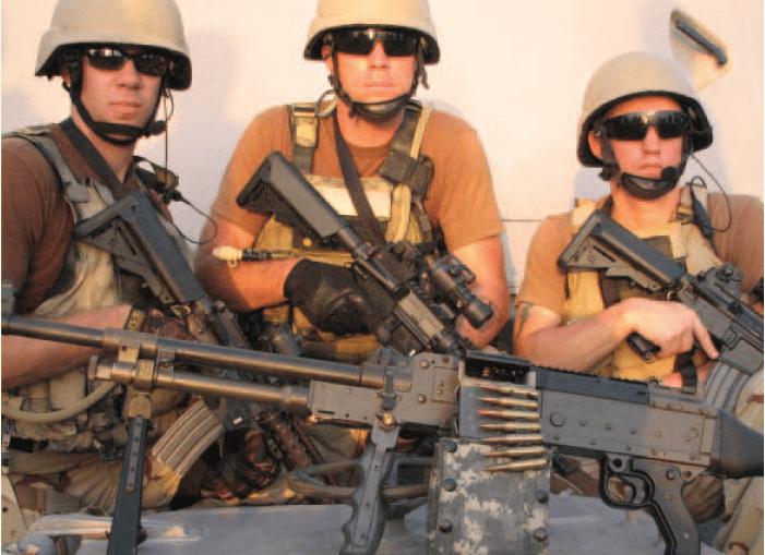 M240 Machine Gun 50 Round Ammo Pouch